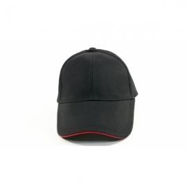 黑色交織帽