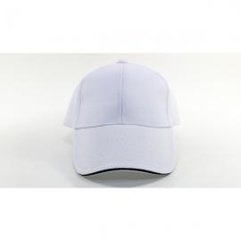 白色交織帽
