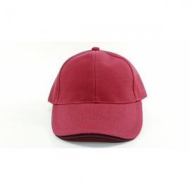 紅色交織帽