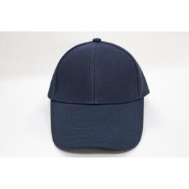 深藍交織帽